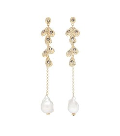 Chloé Celeste baroque pearl earrings