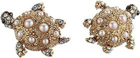 Betsey Johnson Turtle Stud Earrings