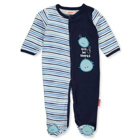 Fisher Price Baby Boys' Sharks Footed Coverall (Ne