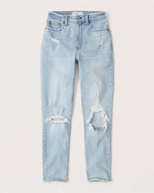 Curve Love High Rise Skinny Jeans, RIPPED LIGHT WA