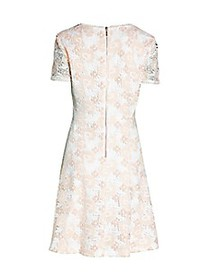 Karl Lagerfeld Paris Lace Flare Dress