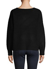 Alice + Olivia Boatneck Wool-Blend Sweater