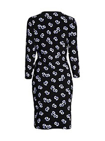 Anne Klein Printed Wrap Dress