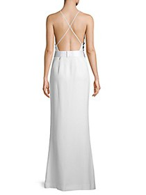 Jason Wu Collection Cady Pleated Evening Gown