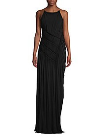 Jason Wu Collection Fluid Jersey Gathered Gown