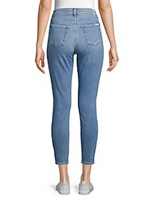 7 For All Mankind Gwenevere High-Rise Skinny Ankle