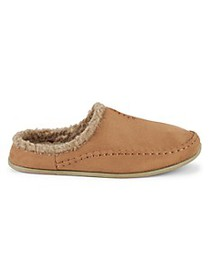 Deer Stags Nordic Faux Fur-Lined Slippers