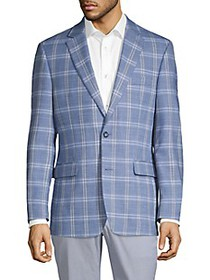 Tommy Hilfiger Trevor-Fit Windowpane Sportcoat