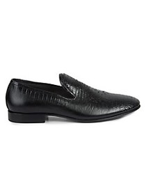 Jo Ghost Embossed Leather Loafers