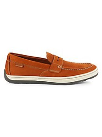 Cole Haan Claude Suede Penny Driving Shoes