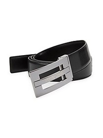 Roberto Cavalli Smooth Leather Belt