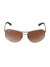 Ray-Ban RB3387 64MM Aviator Sunglasses