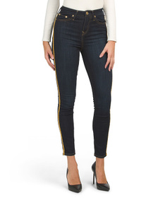 TRUE RELIGION Caia High Rise Ankle Jeans