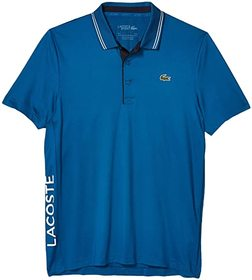 Lacoste Short Sleeve Jersey S-Dry Side Logo Polo