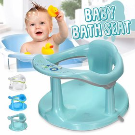 Baby Bath Seat Support Safety Infant Chair Bathing