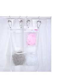 Shower Caddy Quick Dry Hanging Mesh Bath Bag for S