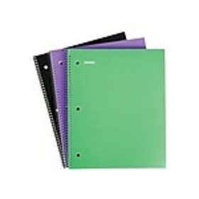 Staples 1 Subject Notebook, 8.5 x 11, College Rule