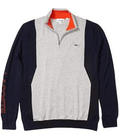Lacoste Long Sleeve 1\u002F4 Zip Sweater
