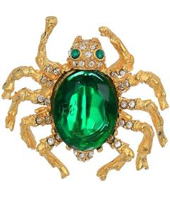 Kenneth Jay Lane Spider Pin