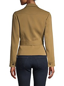 Roberto Cavalli Laced & Belted Jacket