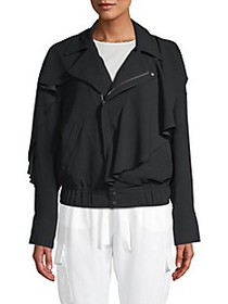 Ramy Brook Asymmetrical Zip-Front Jacket