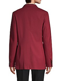3.1 Phillip Lim Notch Lapel Wool-Blend Jacket