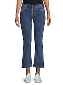 Cotton Citizen Denim Cropped Flared Jeans