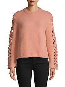 Avantlook Cut-Out Roundneck Sweater