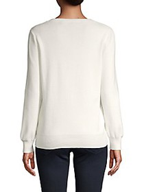 French Connection Roundneck Cotton-Blend Sweater