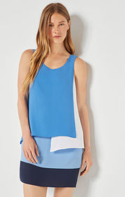 BCBG Haley Layered Shift