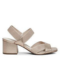 Anne Klein Baker Block-Heel Sandals