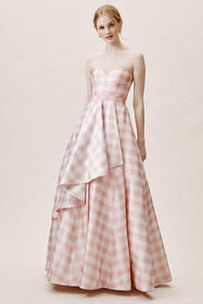 Anthropologie Tosia Gingham Dress