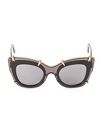 Pomellato 48MM Pomellato Cat Eye Sunglasses