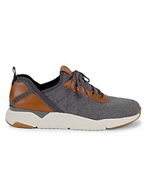 Cole Haan Knit Lace-Up Sneakers