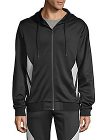 Karl Lagerfeld Paris Full-Zip Hooded Jacket
