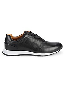 Boss Hugo Boss Textured Leather Sneakers
