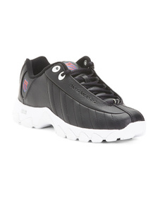 K SWISS Athletic Fashion Leather Sneakers