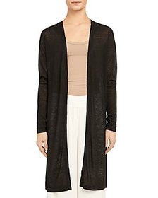 Theory - Torina Open-Front Long Cardigan