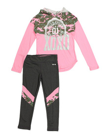 XOXO Big Girls 2pc Hoodie And Legging Set