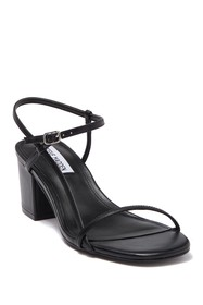 Steve Madden Idea Leather Block Heel Sandal