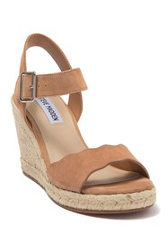 Steve Madden Mandi Espadrille Leather Wedge Sandal