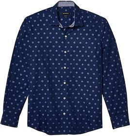 BUGATCHI Zanobi Shaped Fit Woven Shirt