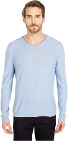 BUGATCHI Filipo Long Sleeve Sweater V-Neck