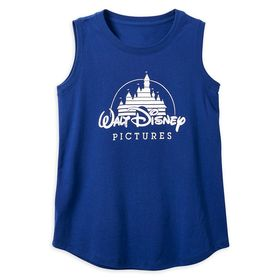 Disney Walt Disney Pictures Logo Tank Top for Wome
