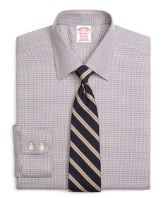Brooks Brothers Non-Iron Madison Fit Micro Tatters