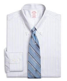 Brooks Brothers Non-Iron Madison Fit Alternating S