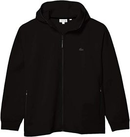 Lacoste Long Sleeve Solid Full Zip with Silicon Cr