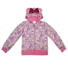 Disney Minnie Mouse Donut Zip-Up Hoodie for Girls