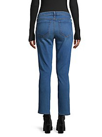 L'Agence Mid-Rise Ankle Jeans
