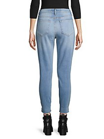 L'Agence Faded Slim-Fit Jeans